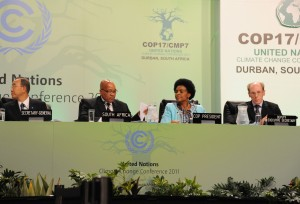 Le trattative di Parigi alla conferenza COP21 (fonte: Wikimedia Commons).